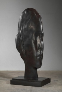 Jaume Plensa, Laura in Huesca, 2014. Bronze, 83 1/2 x 27 1/8 x 35 inches