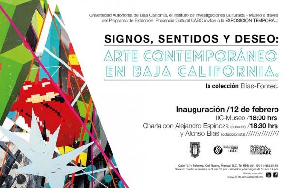 Signos, sentidos y deseo: Arte Contemporáneo en Baja California. La colección Elias-Fontes