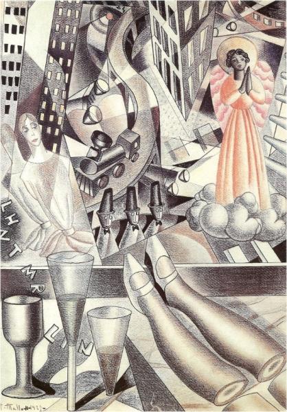 Maruja Mallo, Estampa cinética, 1927