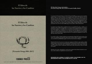 Fernando Sinaga. El libro de las Suertes y los Cambios