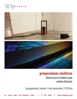 PROYECCIONES CINÉTICAS & CONTEXTUALIZANDO FORMAS