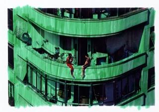 Felipe Morozini - The City that has been painted II, 2007 (800)