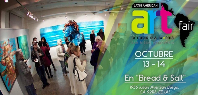 Latin American Art Fair San Diego 2018