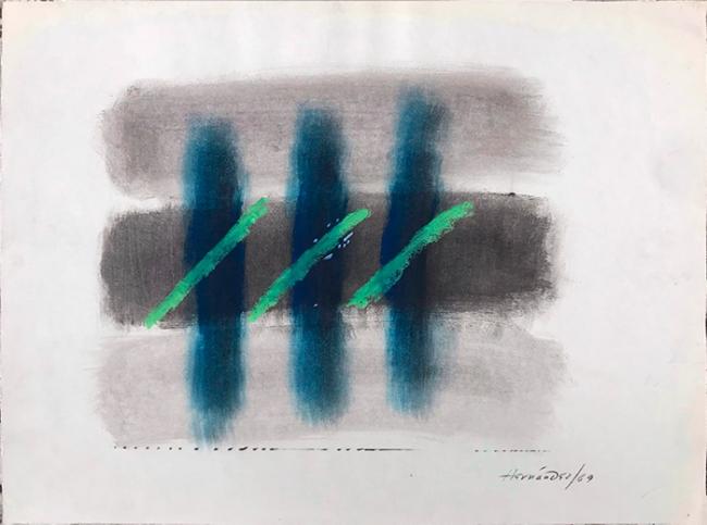 Manuel Hernández. Dibujos y bocetos 1960 - 1990