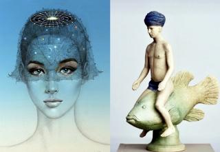 Philippe Brodzki / Sculpture — Valentín Kovatchev / Peinture