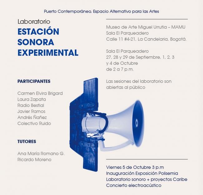 Estación Sonora Experimental. Imagen cortesía Banco de la República Colombia