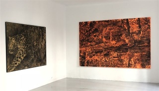 Vista de la exposición — Cortesía de la Galería Juana de Aizpuru