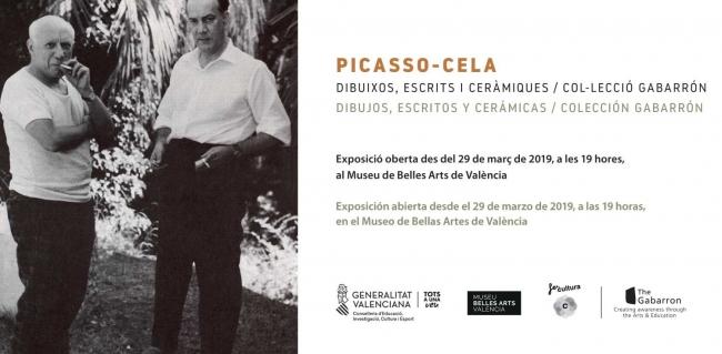Picasso-Cela: dibujos, escritos y cerámicas. Colección Gabarrón