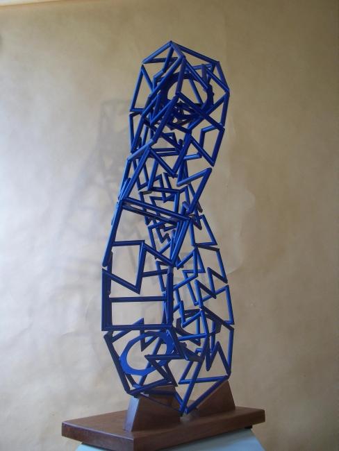 Roberto Giardili - CONTORSIÓN SEGMENTADA. Cortesía Museo Municipal de Bellas Artes Juan Sánchez