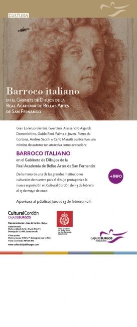 Barroco italiano en el Gabinete de Dibujos de la Real Academia de Bellas Artes de San Fernando