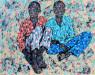 Emeka Udemba - Translation 2 - 2019 - 120cm H x 140cm W - Mixed media on canvas