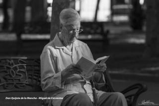Papá lee a Cervantes