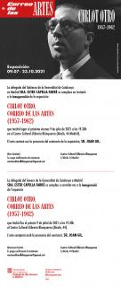 Cirlot Otro. Correo de las artes (1957-1962) - Invitación