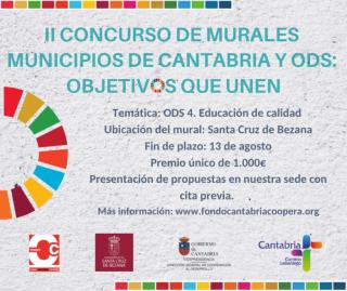 II Concurso de Murales Municipios de Cantabria y Objetivos de Desarrollo Sostenible: Objetivos que Unen