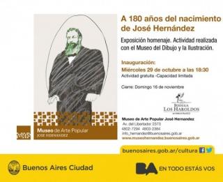 A 180 años del nacimiento de José Hernández