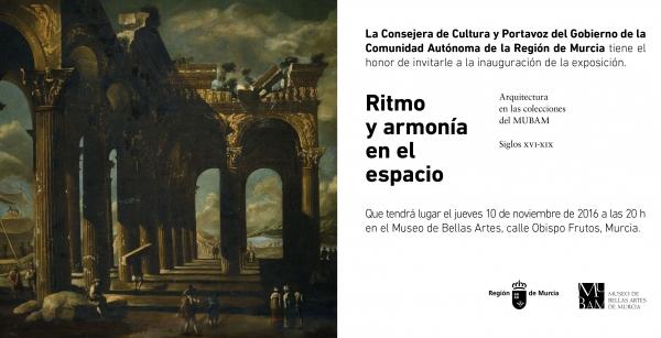 Ritmo y Armonía en el espacio. Arquitectura en las colecciones del MUBAM