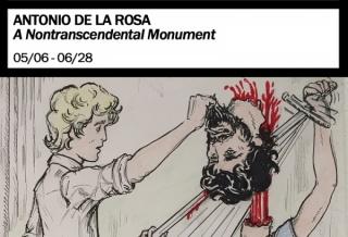 A Nontranscendental Monument