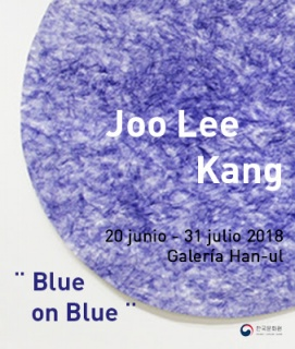 Joo Lee Kang. Blue on blue