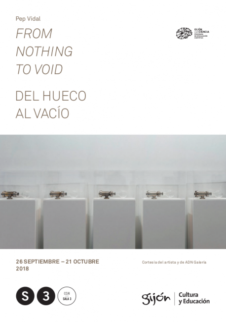 From nothing to void. Del hueco al vacío
