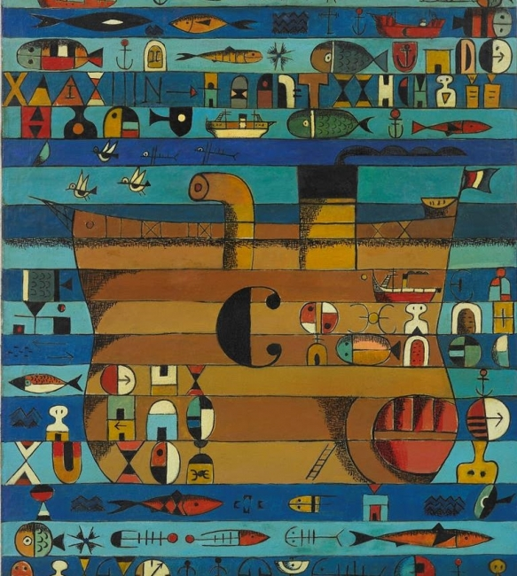 A fronteira infinda. Os artistas galegos e a emigración — Cortesía de Afundación