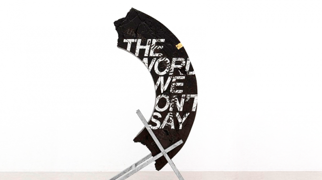 "-""The words we won't say"" Ivan Argote."