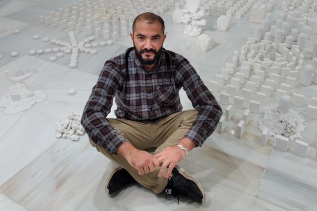 Nicolás Laiz Placeres en el CAAM — Cortesía del Centro Atlántico de Arte Moderno, CAAM