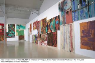 Vivian Suter - Cortesía Museo Reina Sofía