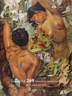 Pedro Centeno Vallenilla, Desnudo con orquídeas, 1943 — Cortesía de Odalys