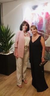 Carla Mourão e Célia Rachel