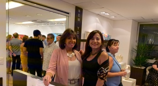 Carla Mourão e Irene Gonzalez