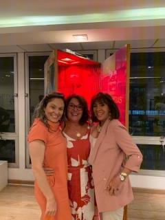 Ellen Sharkany, Patricia Barbosa e Carla Mourão