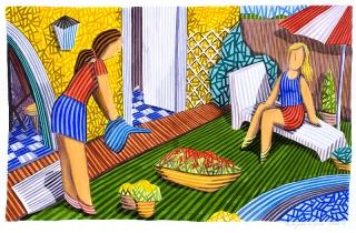 Exposición arte en Barcelona