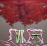 Jesús Zurita. Doble labor 2020. Acrílico sobre tela. 200 x 200 cm. — Cortesía de la Galería Gema Llamazares