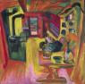 Ernst Ludwig Kirchner. Cocina alpina, 1918 Museo Nacional Thyssen-Bornemisza, Madrid — Cortesía del Museo Nacional Thyssen-Bornemisza