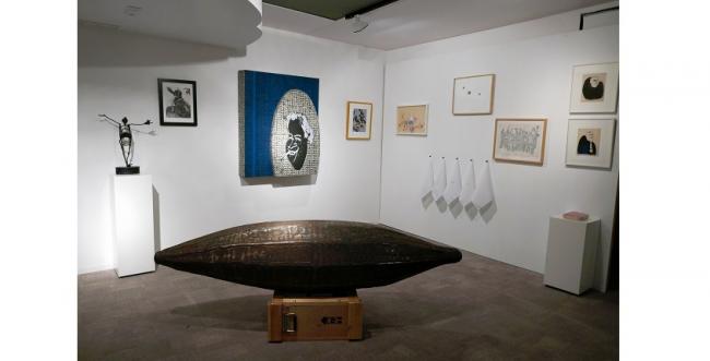 Metáforas Latinoamericanas. Vista de la exposición — Cortesía de la Galería Freijo