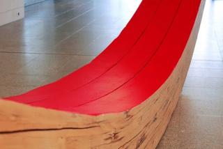 Vista parcial da obra Sem título, 2020, de Cristina Ataíde. Parte integrante da exposição Dar corpo ao vazio, Museu Coleção Berardo, 2020 — Cortesía del Museu Coleção Berardo