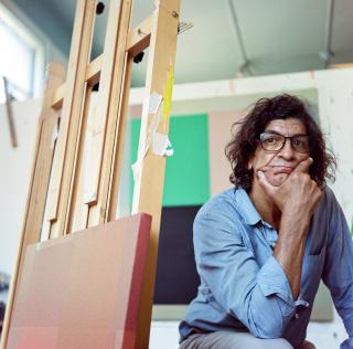 Retrato de Jesús Matheuz. Fotografía de Bruno Muñoz Oropeza — Cortesía de la galería Odalys