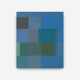 Jesús Matheuz, Neoglifo I (2020) Acrílico y óleo s/tela  |  68 x 57.5 cm. PRECIO: 3.750 € — Cortesía de la galería Odalys