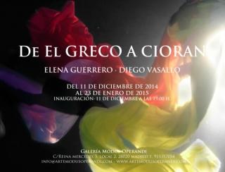 De El Greco a Cioran
