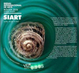 Convocatoria al Concurso Internacional de Arte SIART