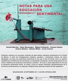 NOTAS PARA UNA EDUCACIÓN (ECONÓMICO-) SENTIMENTAL