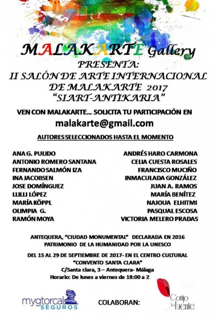 "II SALÓN DE ARTE INTERNACIONAL ""SIART-ANTIKARIA"""