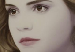 Josie McCoy, Hermione, 100x100cm., oil on canvas, 2015 - Cortesía de ATM Galería