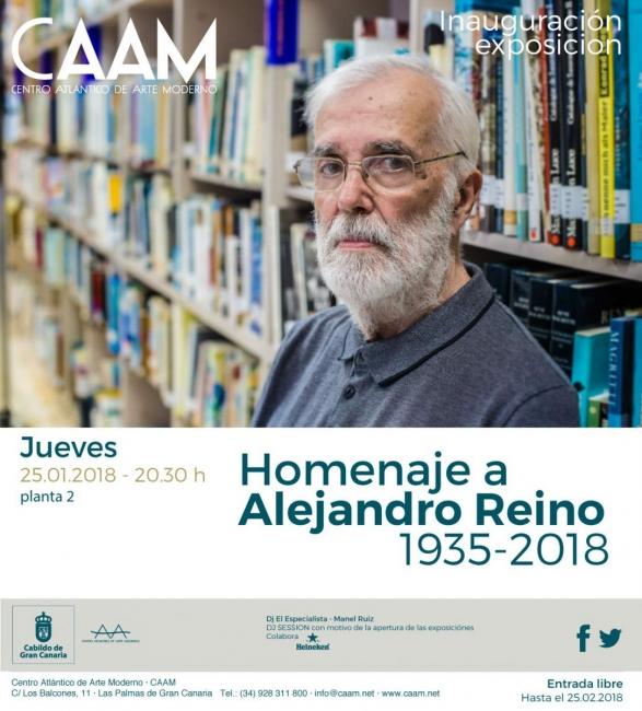 Homenaje a Alejandro Reino 1935-2018
