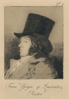 Francisco de Goya. Los Caprichos — Cortesía de la galería About Art