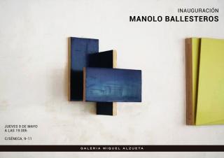 Manolo Ballesteros — Cortesía de la Galería Miquel Alzueta