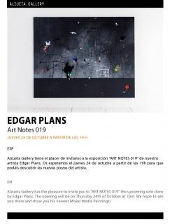 Edgar Plans. Art Notes 019