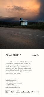 José Manuel Navia. Alma Tierra - Invitación
