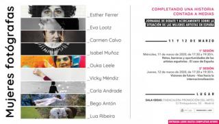 Jornadas: Mujeres fotógrafas - Completando una historia contada a medias