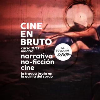 """Cartel de """"Cine en Bruto"""""""